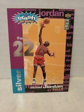 1995-96 Collectors Choice Crash the Game Silver Michael Jordan #C1