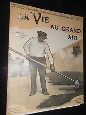 la vie au grand air 1903 concours de tir a Mâcon - sur la route du Mont Blanc