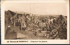 FRENCH POSTCARD Thessaloniki Zouaves French Light Infantry c1915 - perf