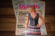 BURDA modes 5/1976 -- la plage-U. partymode-schlankmach robes-Barbie Mariage