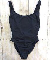 NWOT J. Crew Plunging Scoopback One-Piece Swimsuit in Italian Matte #F8848 BLA 6