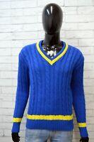 Robe Di Kappa Maglione Uomo Pullover Lana Taglia M Slim Sweater Casual Cardigan