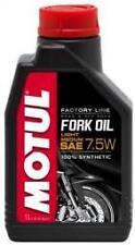 OLIO MOTUL FORK OIL FACTORY LINE  SAE 7.5W 100% SINTETICO 1 LITRO