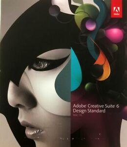 Adobe Creative Suite 6 CS6 Design Standard MacOS + Lightroom 6 MacOS/Windows