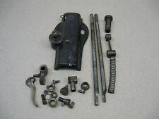 Antique 1883 Singer Fiddle Head Treadle Sewing Machine Front End Parts Rods &&