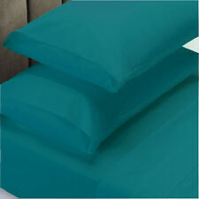 Ddecor Home 1000 Thread count Cotton Blend 4 Piece Queen Bed Set - Azure