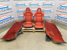 HONDA S2000  RED LEATHER SEATS AP1 and matching carpet. S2K  7/11