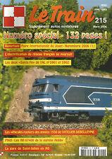 LE TRAIN N° 215 AL N°5901 ET 5902 / CC 6500 / BB 67400 / GARE SAINT JULIEN