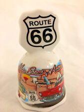 """Ceramic 3.5"""" Route 66 Bell"""