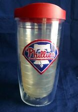 Tervis Tumbler Philadelphia Phillies Clear Red Lid 16 Oz