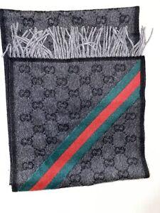 Gucci Wool Scarf Unisex