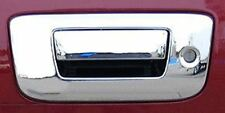 2007-2012 Chevy Silverado GMC Sierra Chrome Tailgate Handle Cover Insert w/ Key