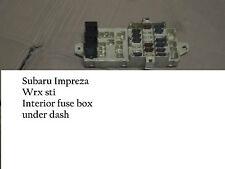 Subaru Impreza Wrx Sti Turbo 93-97 Jdm interior fusebox Caja De Fusibles