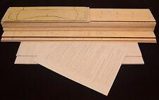 Royal Mitsubishi RAIDEN J2M3 Laser Cut Short Kit, Plans & Instruction, 50 in. ws