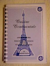 Cuisine Continentale, Gems of French Cooking Armand Coullet Cookbook