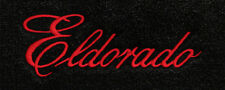 Lloyd Mats Cadillac Eldorado Word Velourtex Front Floor Mats (1957-1966)