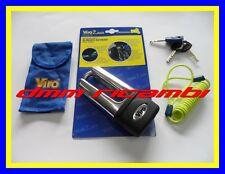 Bloccadisco Bloccacorona VIRO EXTREME Blindato MOTO antifurto in acciaio 152.47