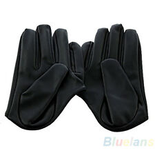 Sex and The City Faux Leather Womens Ladys Five Finger Half Palm Gloves Hot BF4U