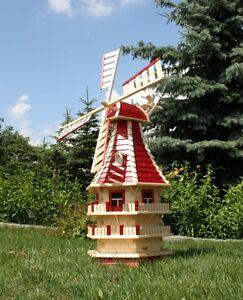1,50m große XXL Holzwindmühlen Typ 13.1