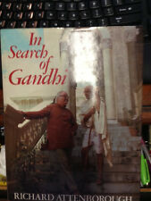 RICHARD ATTENBOROUGH SIGNED In Search of Gandhi 1st