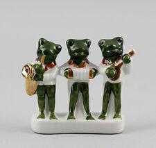 Figurines En Porcelaine Grenouille Petite Groupe 6,5x5,5cm 9942402
