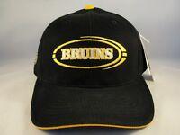 Boston Bruins NHL Vintage Strapback Cap Hat Black
