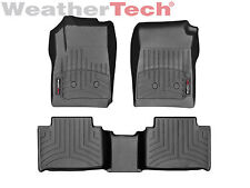 WeatherTech Floor Mats FloorLiner for Colorado/Canyon Crew Cab 2015-2019 - Black