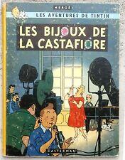 Tintin Les Bijoux de la Castafiore EO B34 1963 Hergé