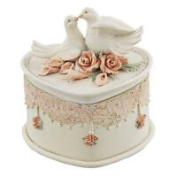 Wedding Gift Trinket Box With Doves 60458