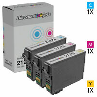 3pk For Epson 212 212XL Ink Cartridge Set WorkForce XP-4100 XP-4105 WF-2850