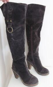 Flyfoz knee high boots women Eur 36 US 5.5 UK 3.5 USED  #452