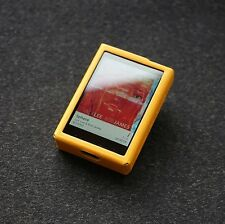 For Cowon Plenue D Premium Genuine Leather Case MP3 Protect Cover PAULO - Yellow