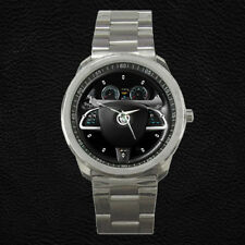 Custom Jaguar XKR-S Steering Wheel Dashboard Watch Unisex Wristwatch