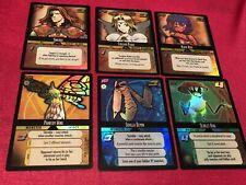 Dot Hack .Hack Enemy TCG Lot of 6 Promo Foil Starter Cards (1S) - M/NM