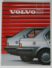 VOLVO 340 360 1986 dealer brochure - Holland - Export - ST2003000418