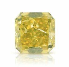 0.38 Carat Fancy Deep Greenish Yellow Loose Diamond Natural Color GIA Certified