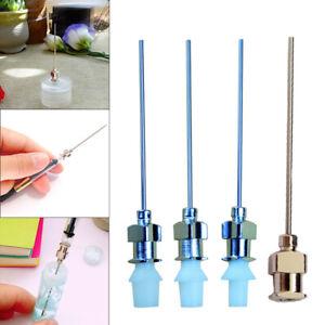 New Fan Mu Fountain Pen Ink Bottle Converter Filler Needle 2.2mm-2.7mm