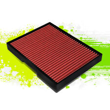 FOR 93-11 AUDI TT/S3 VW JETTA/GOLF/BEETLE WASHABLE PANEL CABIN AIR FILTER RED