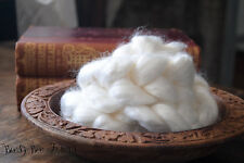 Rayon Bamboo Roving Undyed Combed Top Felting or Spinning Cellulose 2 oz