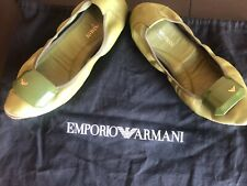 A LOT OF SUPER COMFORTABLE FLATS BY EMPORIO ARMANI, SIZE 37