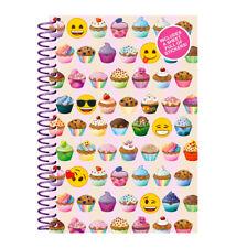Emoji Notebook - Stationery Pen School Bag Smiley Back To Pad Smiley