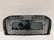 AUDI A4 S4 B9 SALOON ESTATE 2016-2018 FRONT BUMPER MAIN GRILL RS STYLE [B9RS4-1]
