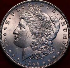 Uncirculated 1885 Philadelphia Mint Silver Morgan Dollar