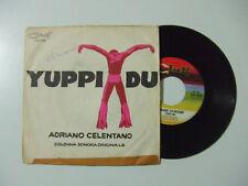 "Adriano Celentano – Yuppi Du - Disco Vinile 45 Giri 7"" Stampa ITALIA 1975"