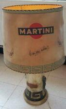 Tres rare complète grande ancienne lampe martini avec abat-jour ORIGINAL