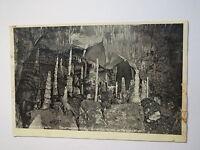 Rübeland i. Harz - Baumannshöhle - Säulenhalle von unten gesehen - 1931 / AK