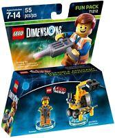 LEGO® Dimensions 71212 The LEGO Movie Fun Pack Emmet + Excavator (55 pieces) New