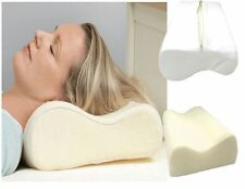 Contour Memory Foam Luxury Pillow Firm Head Back Orthopaedic Neck Support