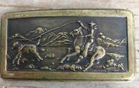 Vintage Style Hook Western Style Belt Buckle Cowboy Calf Roping