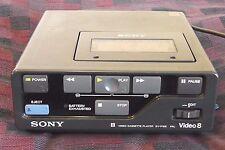 Sony ev-p10e, Petit, mais finement! Vidéo 8 Player, Numériser, du distributeur!